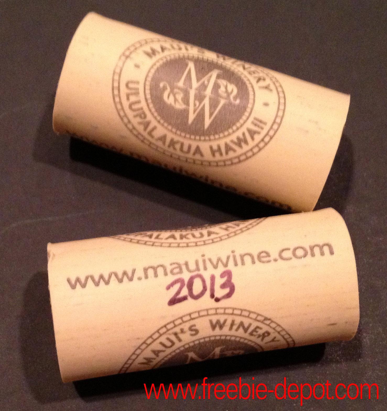 Free Maui Wine