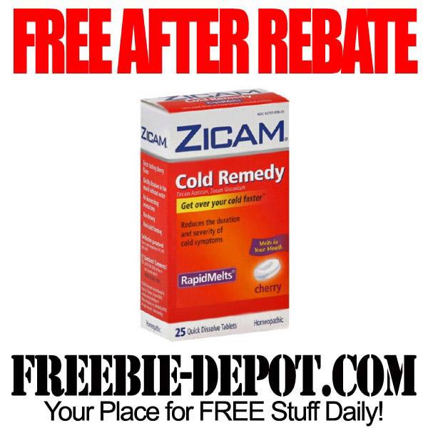 Free After Rebate Cold Medicine