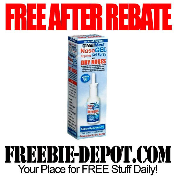 Free After Rebate NasoGel