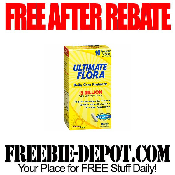 Free After Rebate Probiotic Flora