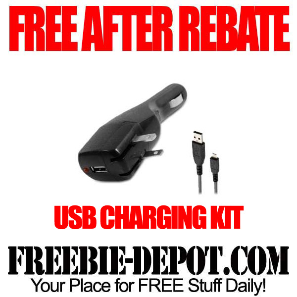 Free After Rebate USB Charging Kit