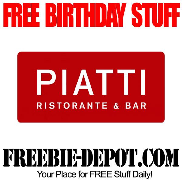 Free Birthday Tiramisu