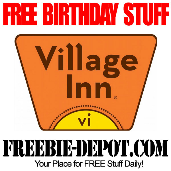 Free Birthday Village Inn