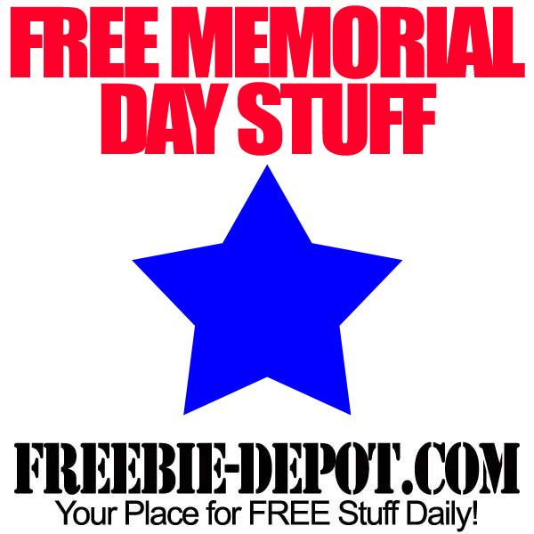 Free Memorial Day Stuff 2013