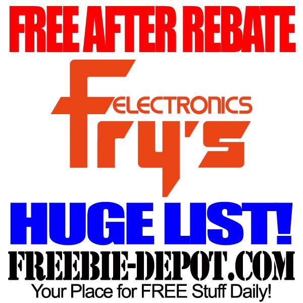 Free After Rebate Frys Electronics
