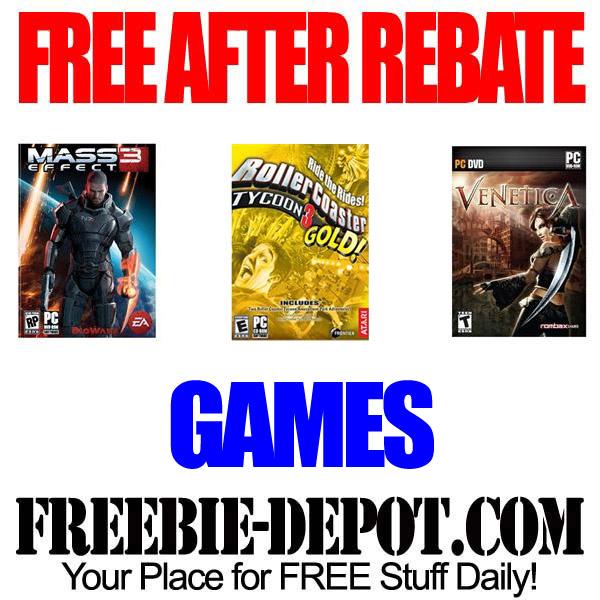 Free After Rebate Games