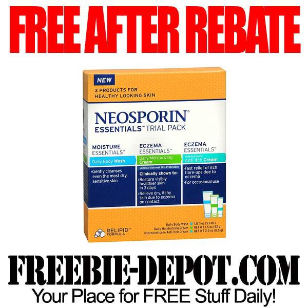 Free After Rebate Neosporin Pack