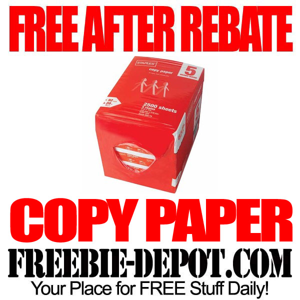 Free-After-Rebate-Staples-Copy-Paper