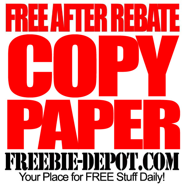 Free After Rebate Staples Paper