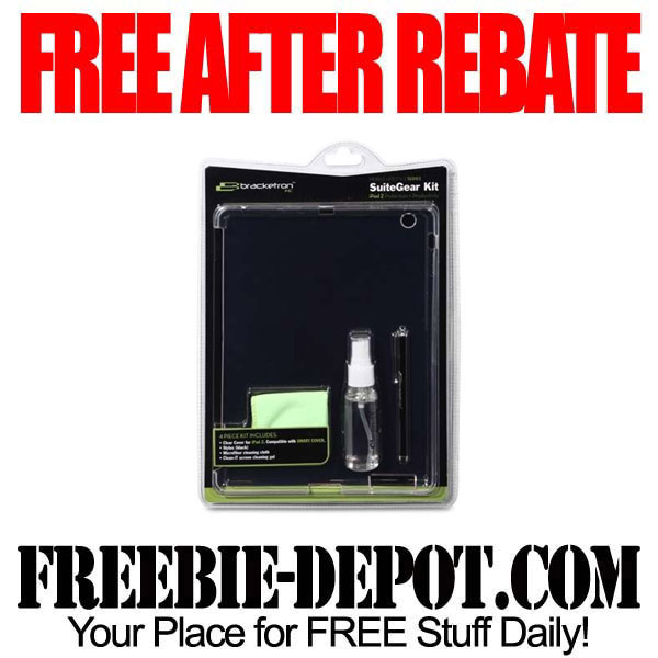 Free After Rebate iPad Kit