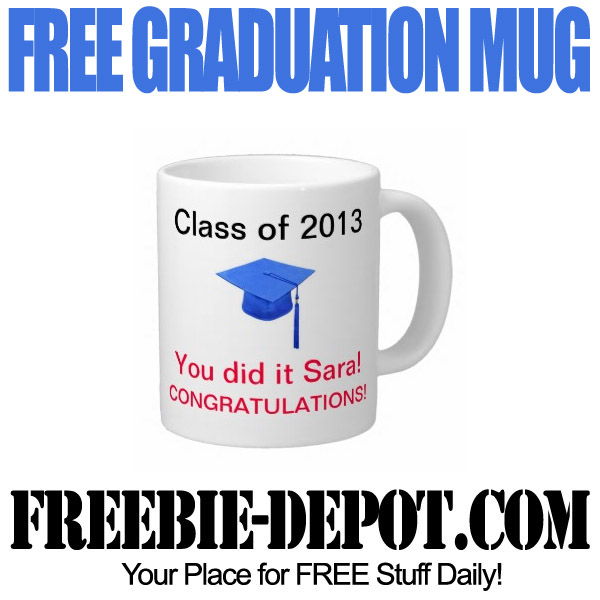 Free Graduation Mug