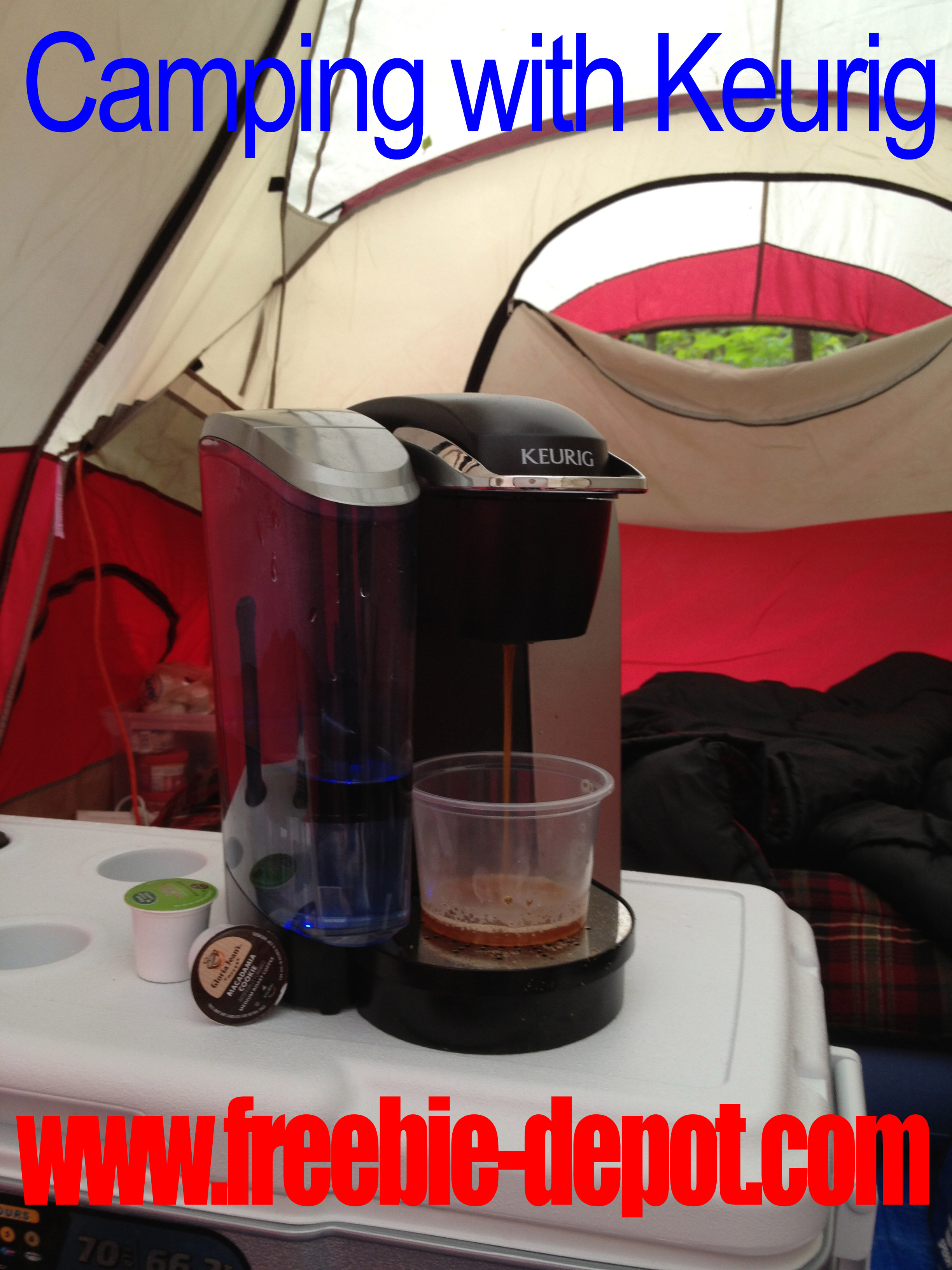 Camping with Keurig