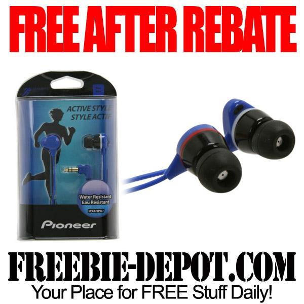 Free After Rebate Earbud Earphones