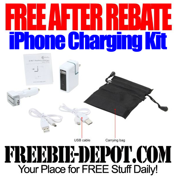 Free After Rebate iPhone Charging Kit