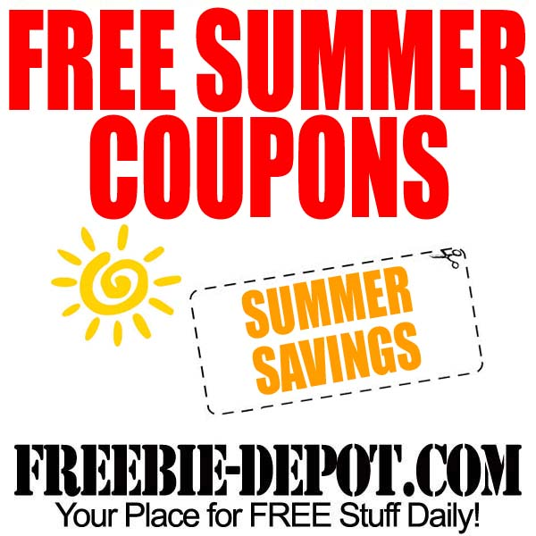 Free Summer Coupons