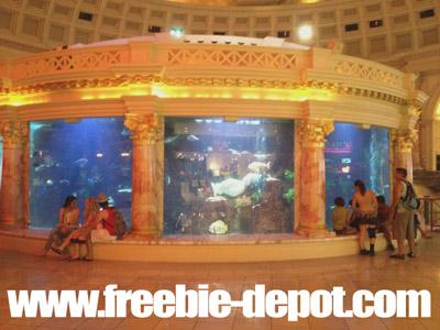 Free Vegas Stuff Caesar's Forum Shops