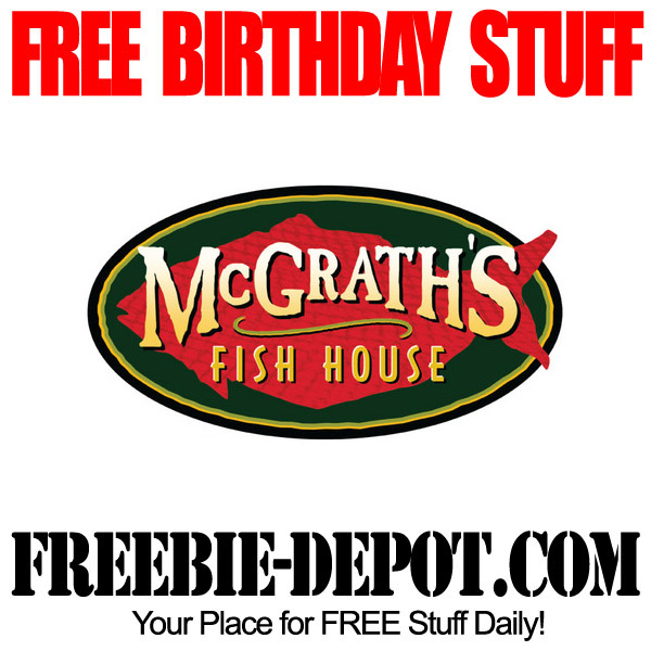 Free Birthday Fish House