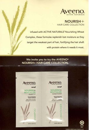 FREE Hair Care Products from Aveeno