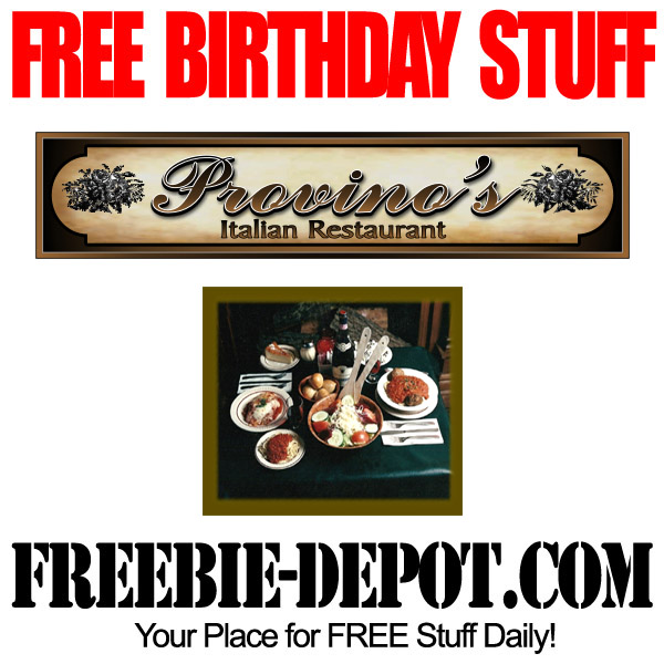 Free Birthday Pasta