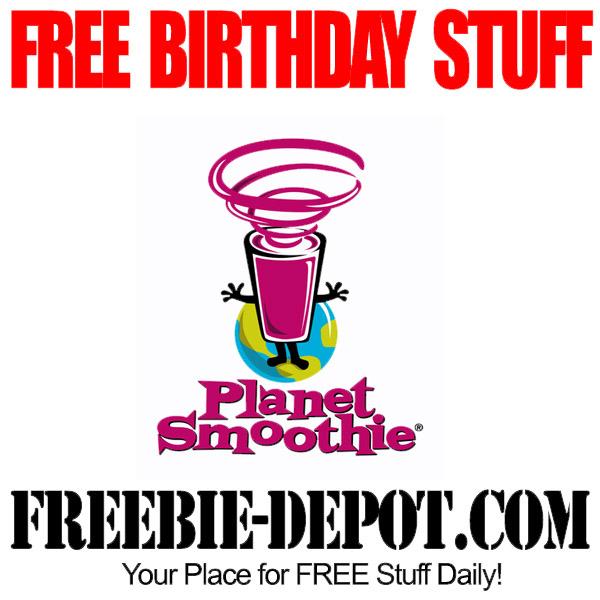 Free Birthday Smoothies