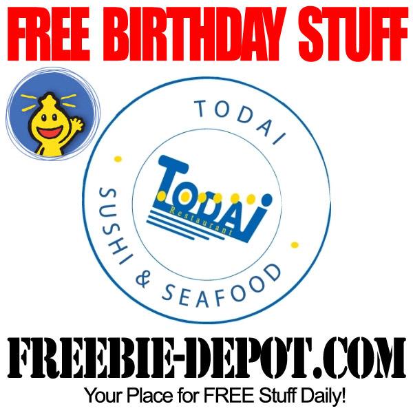 Free Birthday Sushi