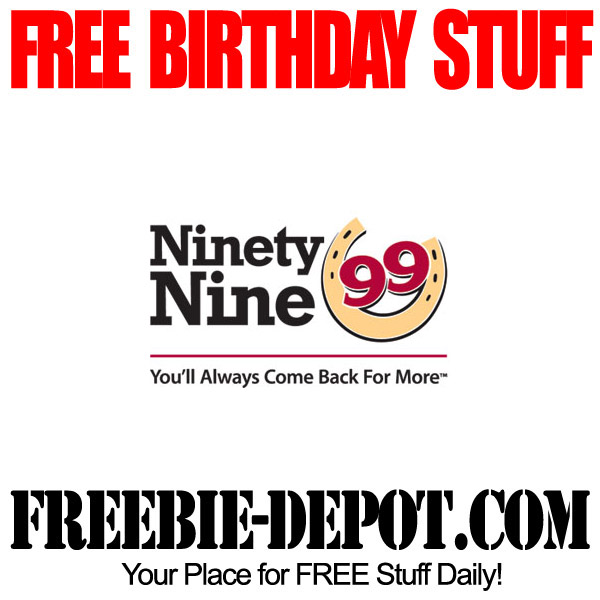 Free Birthday 99 Dessert