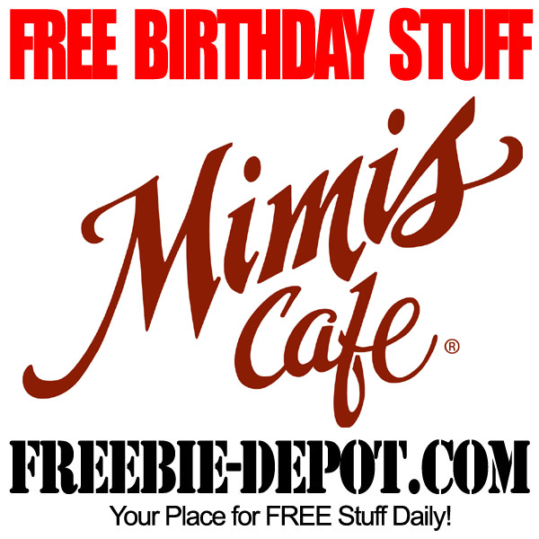 Free Birthday Breakfast