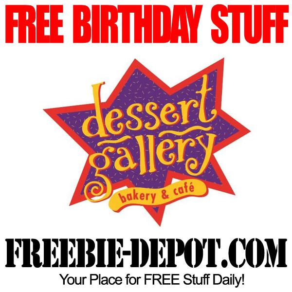 Free Birthday Desserts