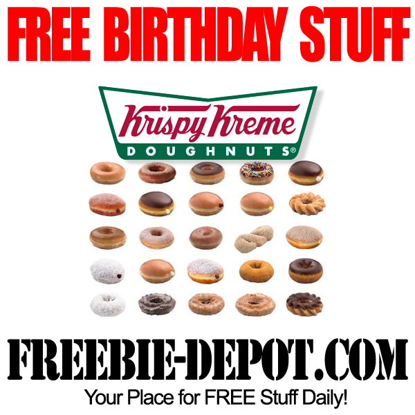 Free Birthday Doughnut