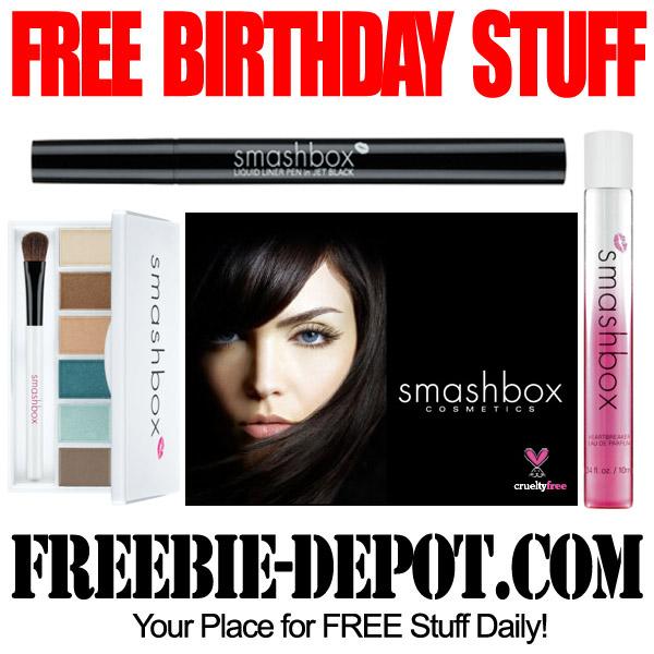 Free Birthday Makeup