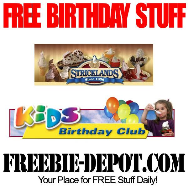 Free Birthday Sundae