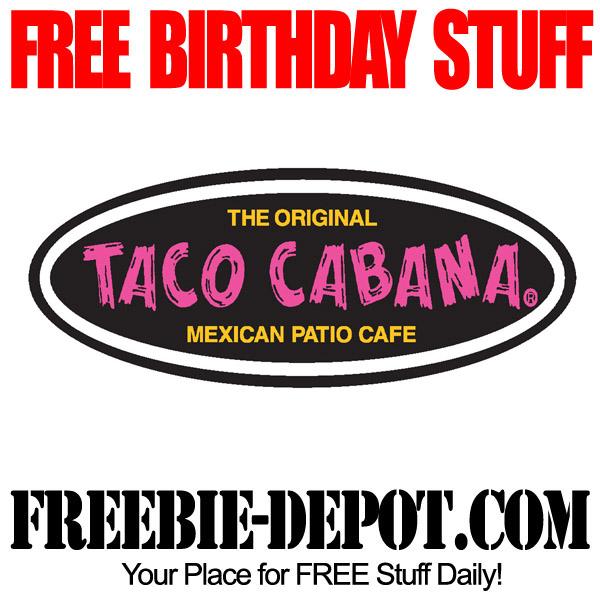 Free Birthday Taco Cabana