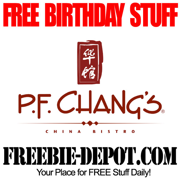Free Birthday Chinese Food