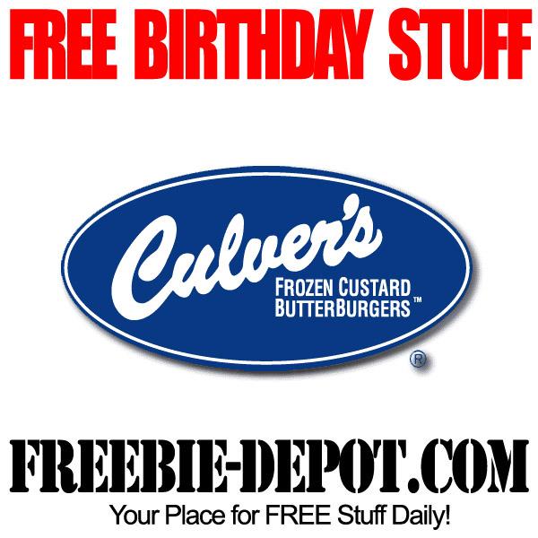 Free Birthday Custard Sundae