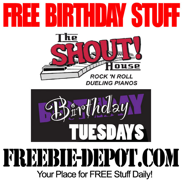 Free Birthday T-Shirt