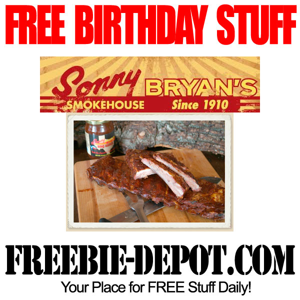 Free Birthday Meal - Lunch
