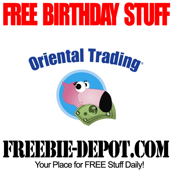 Free Birthday Oriental Trading