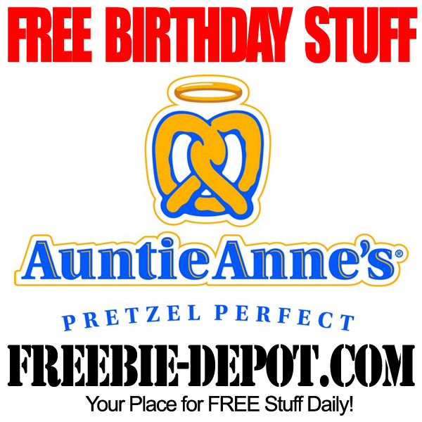 Free Birthday Stuff Pretzel