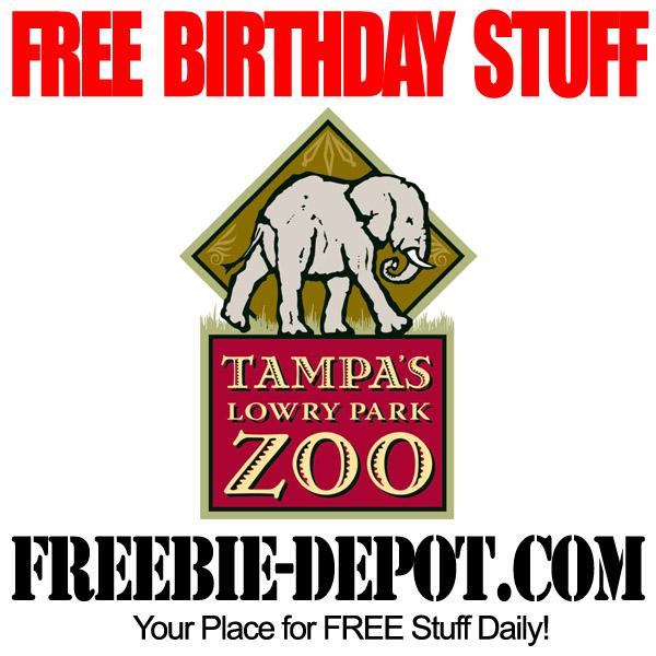 FREE BIRTHDAY STUFF – Tampa's Lowry Park Zoo – FREE BDay Admission