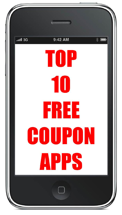 Top 10 FREE Coupon Apps