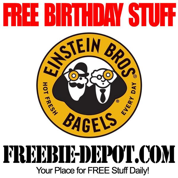 Free BDay Bagel