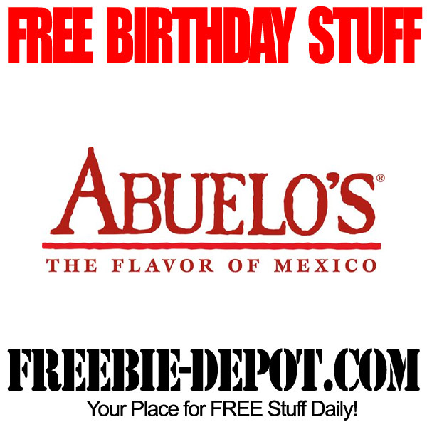 Free Birthday Mexican Dinner