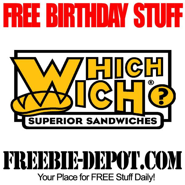 Free Birthday Sandwich