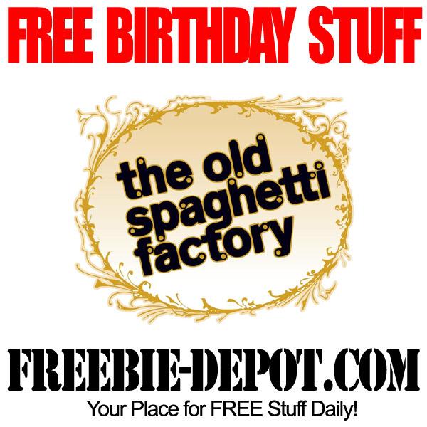 Free Birthday Spaghetti