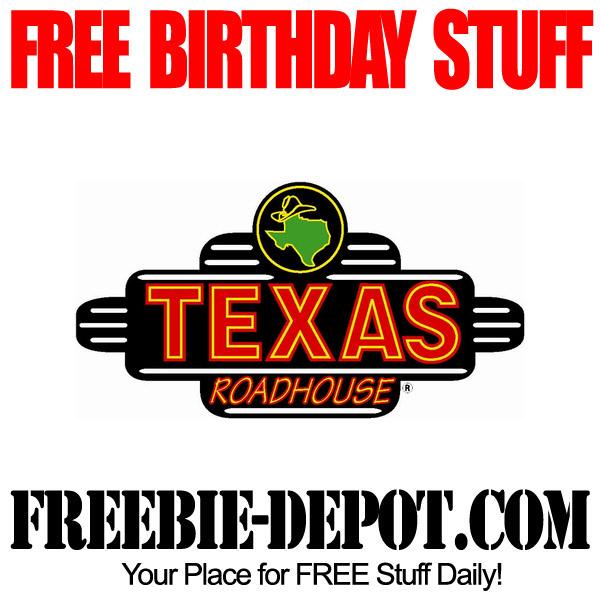Free Birthday Texas Style