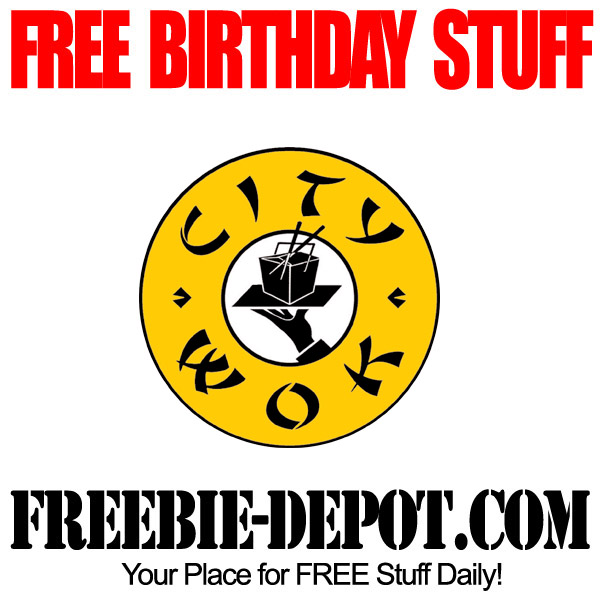 BIRTHDAY FREEBIE – City Wok ~
