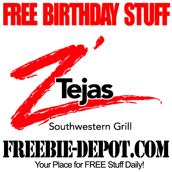 Free Birthday Southwest Grill