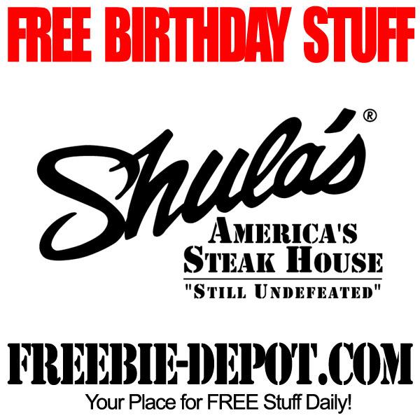 Free Birthday Steak House Entree