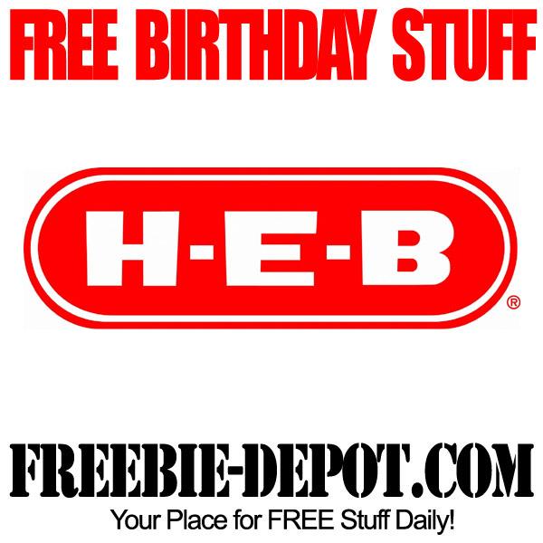 Free Birthday Club HEB