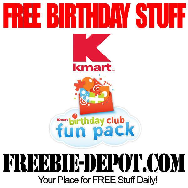 Free Birthday Kmart Birthday Club